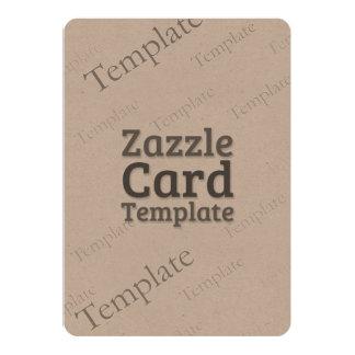 La plantilla de encargo de la tarjeta de Zazzle Invitación 12,7 X 17,8 Cm