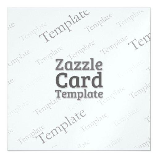 La plantilla de encargo de la tarjeta de Zazzle Anuncio
