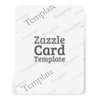 La plantilla de encargo de la tarjeta de Zazzle Comunicados Personalizados