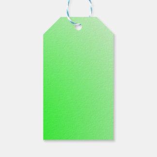La plantilla de las etiquetas DIY del regalo añade