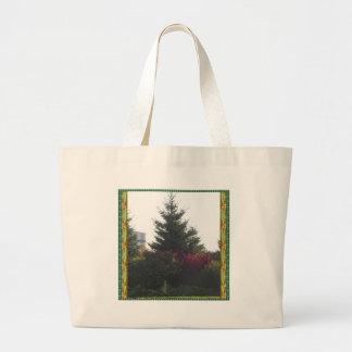 La plantilla de las flores del árbol de los bolsas