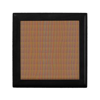 La PLANTILLA de oro DIY de la textura de Brown Caja De Recuerdo