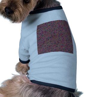 La plantilla elegante de la celebración de la onda ropa de perros
