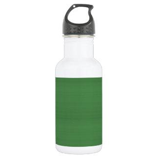 La plantilla VERDE DIY de la textura fácil añade Botella De Agua