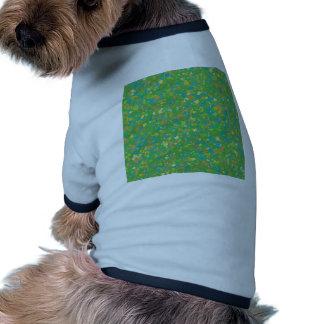 La PLANTILLA verde elegante del confeti añade la Camisa De Mascota