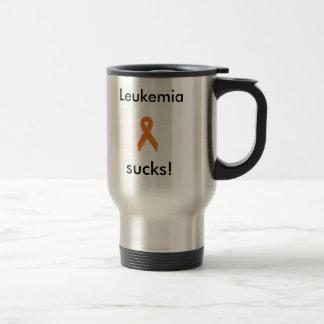 ¡la plata, leucemia chupa! taza del viaje.