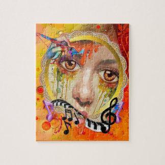 La plataforma del artista puzzle