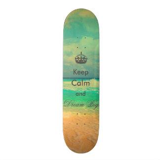 """la playa del vintage """"guarda calma y soña"""" cita gr patines personalizados"""