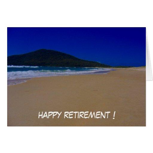 la playa se retira felicitacion
