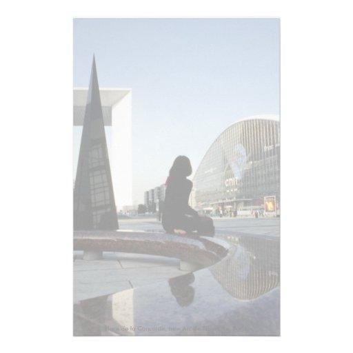 La plaza de la Concordia, nuevo Arco del Triunfo,  Papelería De Diseño
