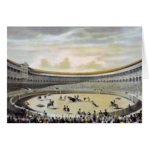 La plaza de Toros de Madrid Tarjeta