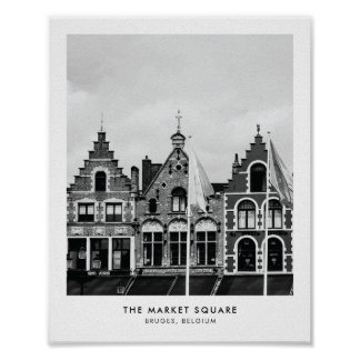 La plaza del mercado, impresión de la fotografía