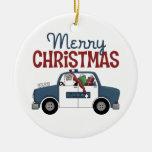 La policía de las Felices Navidad adorna Ornamentos De Navidad