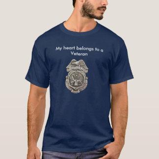 La policía militar Badge Camiseta