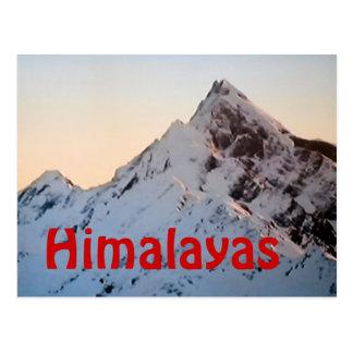 La postal de Everest de Himalaya
