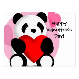 La postal de la tarjeta del día de San Valentín de