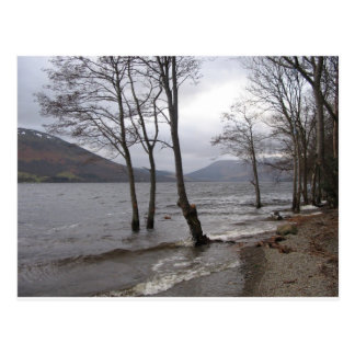 La postal de orillas del lago gana
