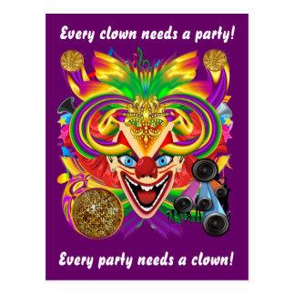 La postal del fiesta ve por favor notas