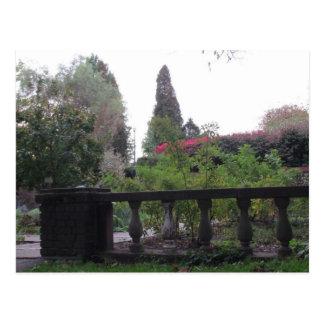 La postal del jardín de Scret