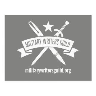 La postal del logotipo de MWG, Haze gris