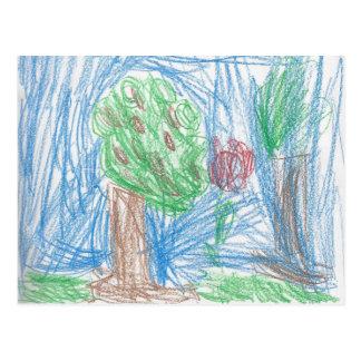 La postal del manzano