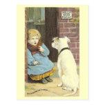 La postal del Victorian de Unexpexted Vistor