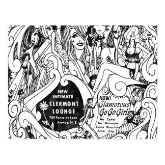 La postal famosa del salón de Clairmont