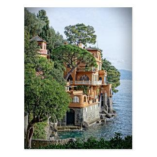La postal italiana de Riviera - de Portofino