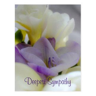 La postal más profunda de la condolencia