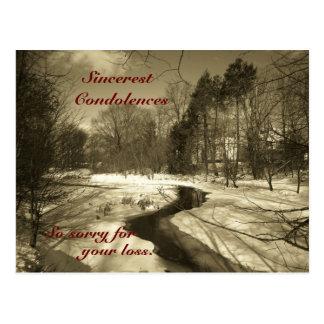 La postal más sincera de las condolencias