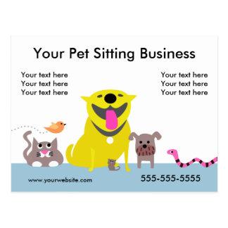 La postal promocional del canguro del mascota -
