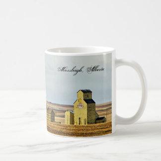 La pradera hace centinela la taza de café de