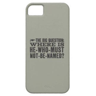 La pregunta grande iPhone 5 Case-Mate cárcasa