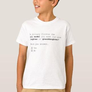 La pregunta presidencial 2016 importantes camiseta