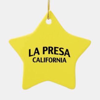 La Presa California Adorno De Navidad