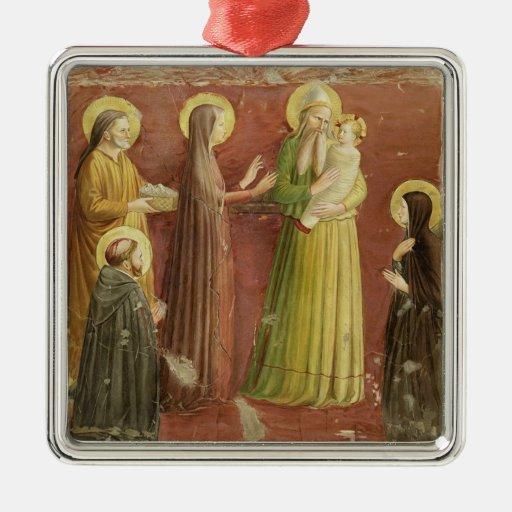 La presentación en el templo, de una serie de p ornamento de navidad