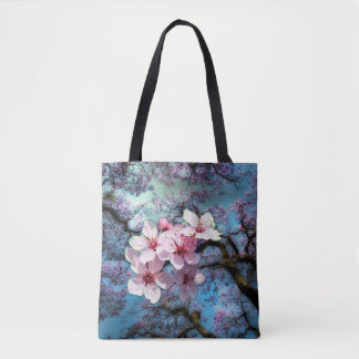 La primavera ha llegado bolsa de tela