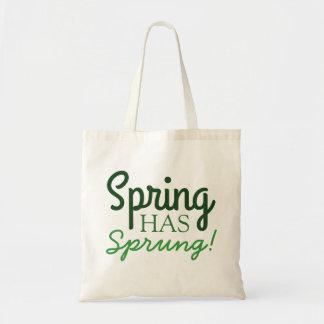¡La primavera ha saltado! Las bolsas de asas de la
