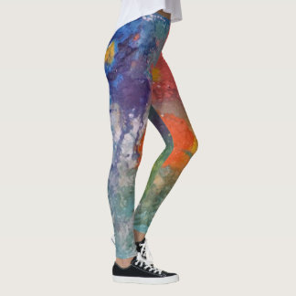 La primavera ha saltado leggings