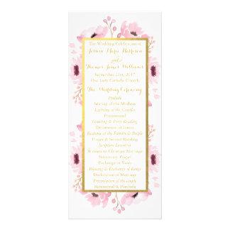 La primavera pica la colección floral del boda de diseños de tarjetas publicitarias