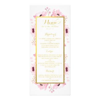 La primavera pica la colección floral del boda de tarjeta publicitaria