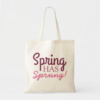 ¡La primavera rosada de la pendiente ha saltado!