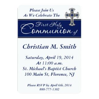 La primera comunión santa invita invitación 12,7 x 17,8 cm