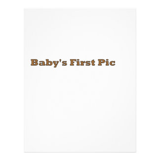 La primera imagen del bebé los regalos de Zazzle d Tarjeta Publicitaria