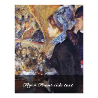 La primera salida de Pierre-Auguste Renoir Flyer A Todo Color