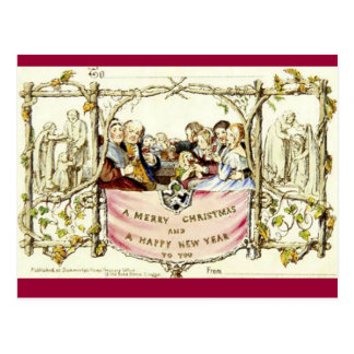 La primera tarjeta de Navidad (1843)