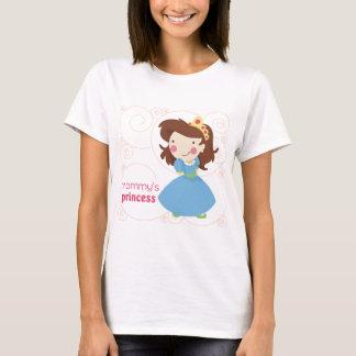 La princesa de la mamá camiseta