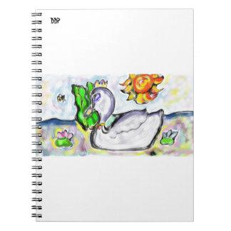 la princesa del cisne de ella cuaderno