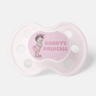 La princesa Vintage Baby del papá Chupetes Para Bebes