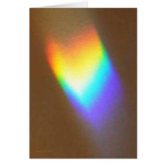 La prisma echó 6 tarjeta de felicitación